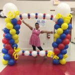 Balloon School Reading Award Photo Frame